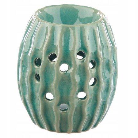Ceramiczny podgrzewacz na olejek 'Eden' -Jeżowiec/morski