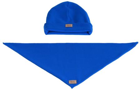 Komplet czapka i chusta: MORSKA EUFORIA