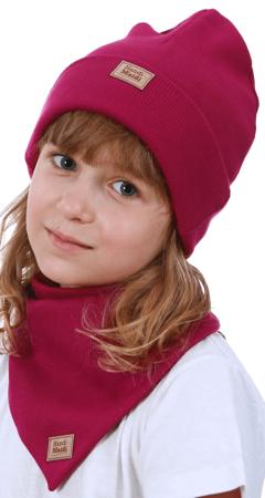 Komplet czapka i chusta: RUBINEK