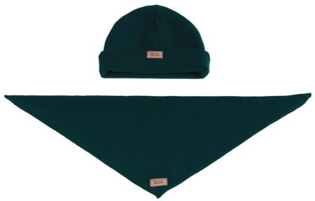 Komplet czapka i chusta: TAJEMNICZY LAS